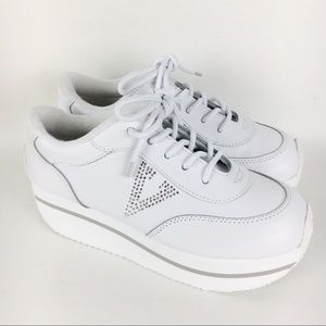 New Volatile Expulsion White Platform Sneakers 7